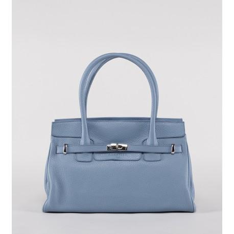 Shoulder Bag - Collection Bellecour - Sac en cuir grainé porté épaule