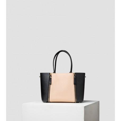 Le S - Petit sac réversible - Noir / Poudré