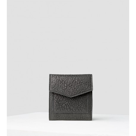 Porte monnaie & carte Gambetta Bubble Noir