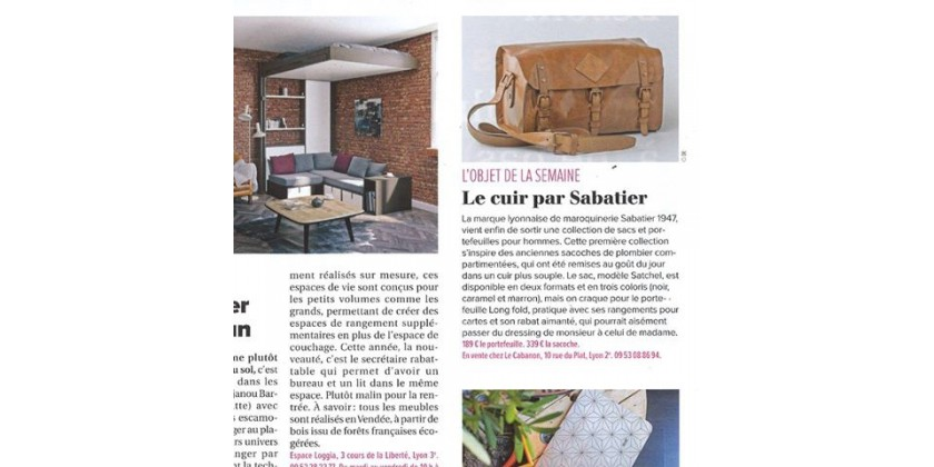Tribune de Lyon editorial board's favourite of the week !