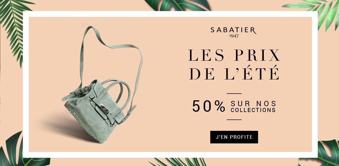 Sabatier lance ses prix de l'été, 50% sur des modèles emblématiques de ses collection précédentes