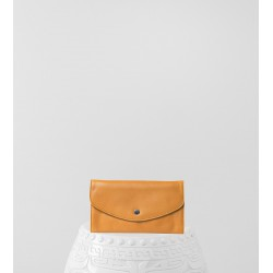 Portefeuille Gambetta Lisse Orange